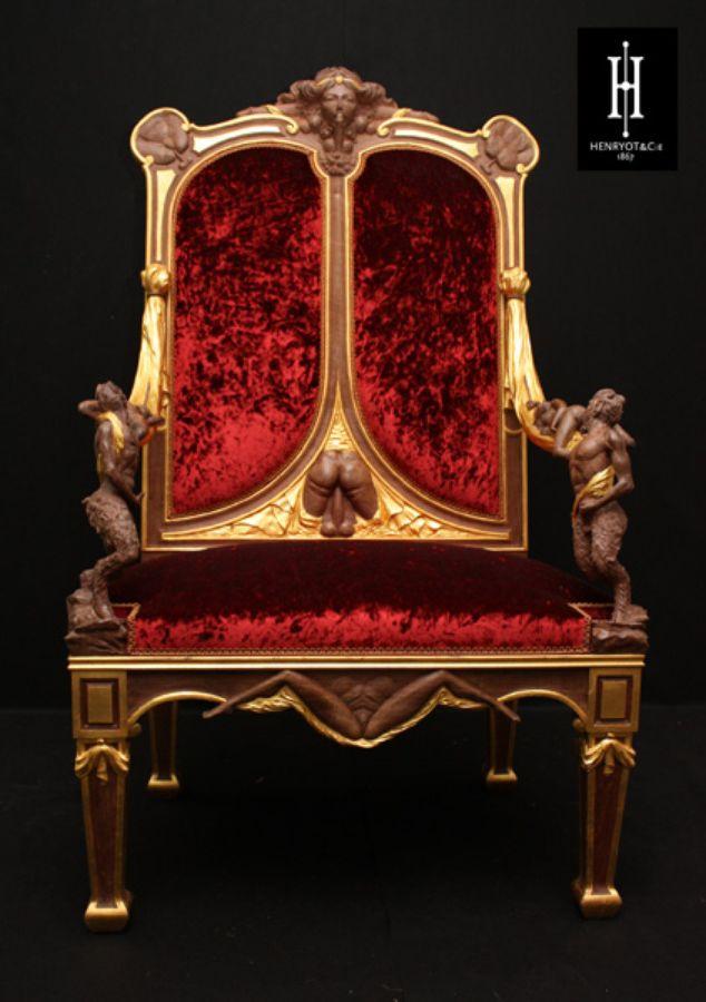 Catherine II de Russie : le fauteuil du cul