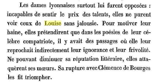 louise LAbbé, vie et moeurs, p27 jalosuie