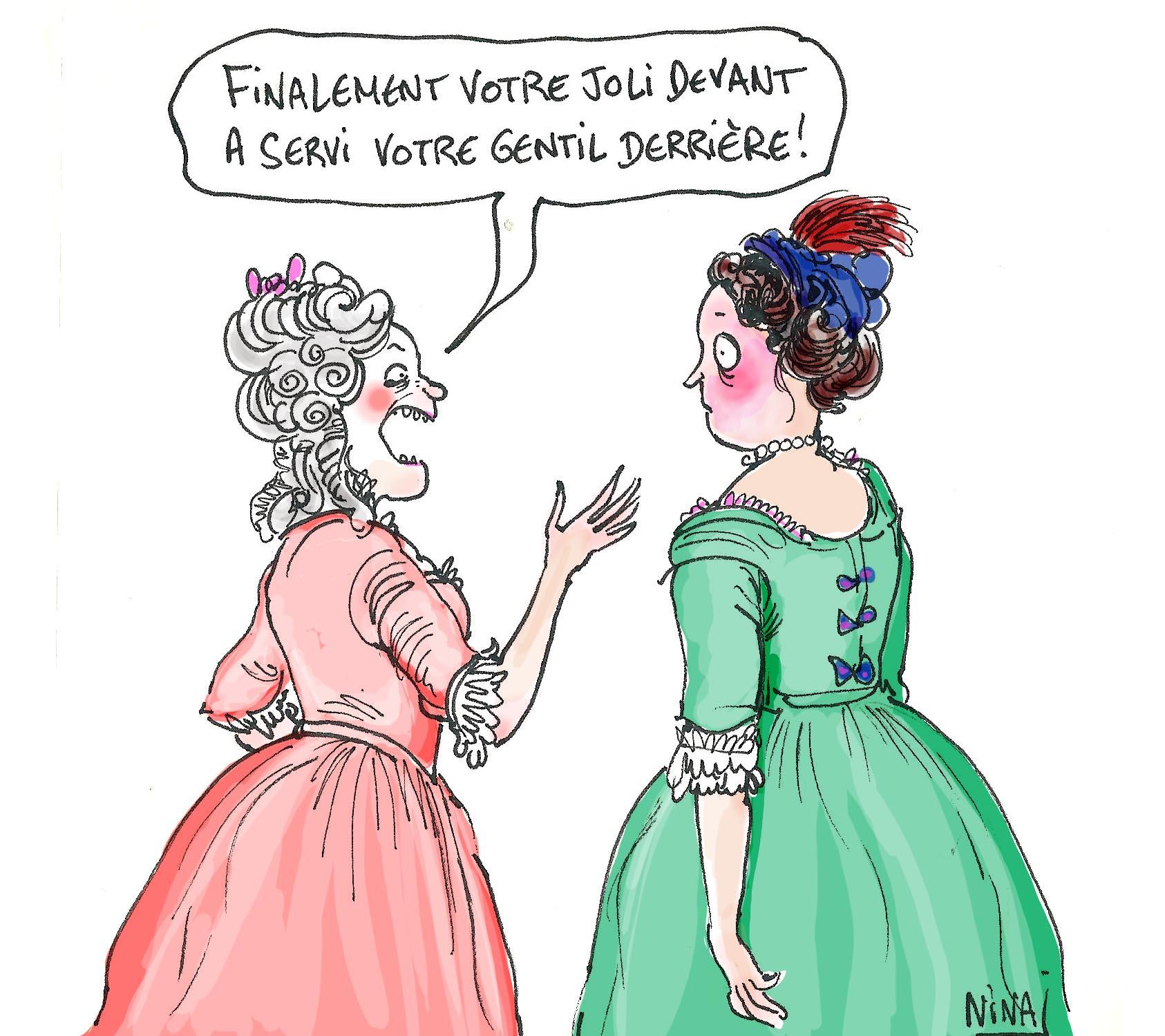 Madame ad la de le torchon br le versailles raconte - Il couche avec sa belle mere pour une nuit ...