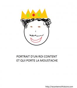 portrait d'un roi content