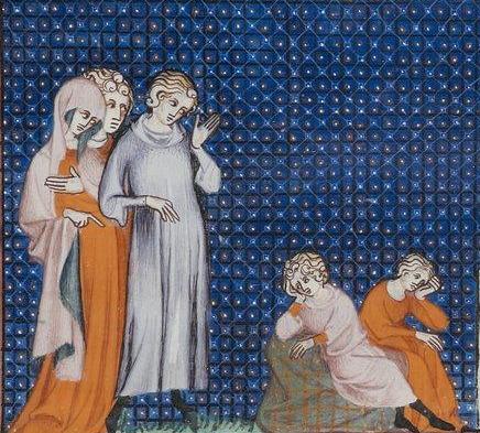 Etre mère au Moyen Age