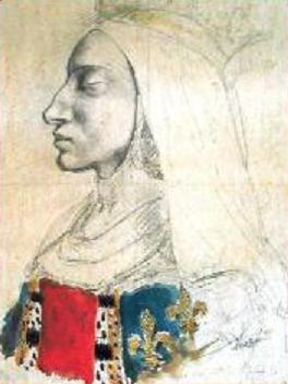 Jeanne de France, le fabuleux destin d'une moche, boiteuse et fille de Roi. Jeanne-de-france-portrait