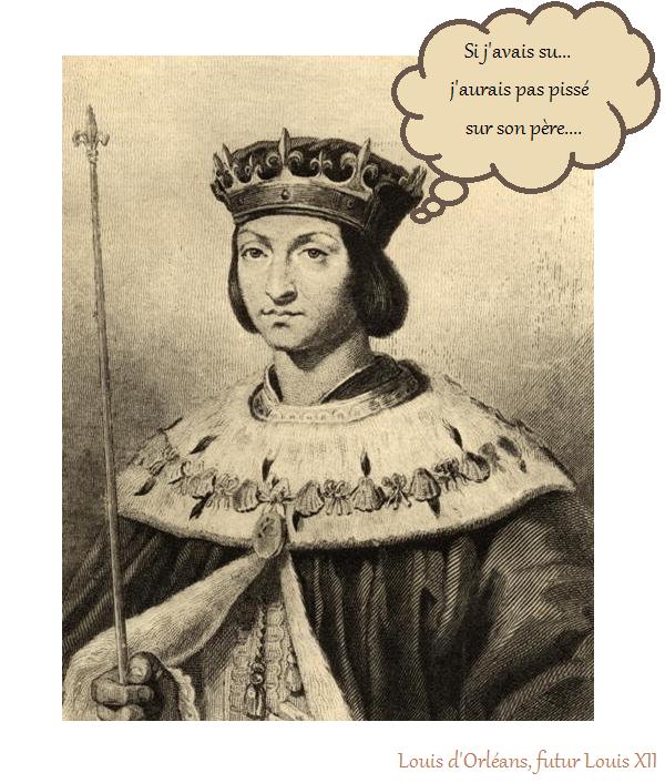 Louis d'Orléans, futur Louis XII