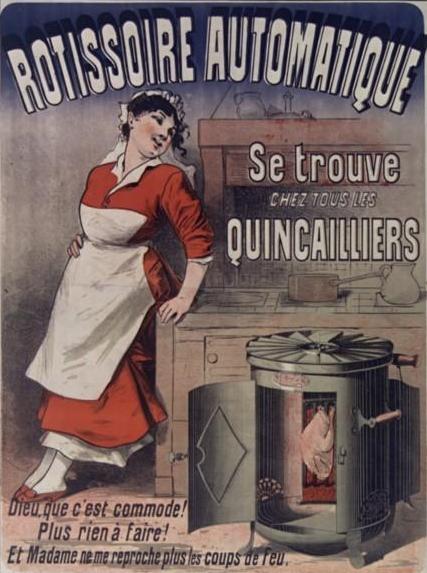 La rôtissoire automatique