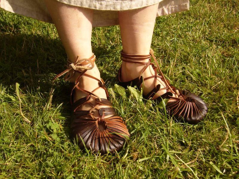 Les chaussures gauloises