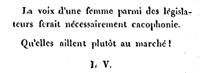 1801 cacophonie