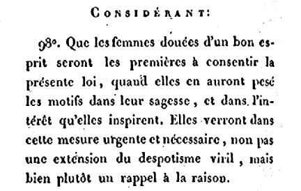 1801 despotisme viril