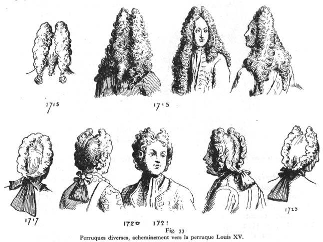 L\u0027histoire de la perruque, de Cléopâtre à Bonaparte