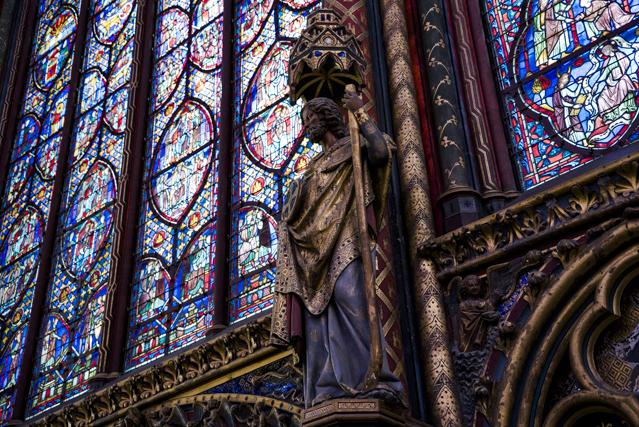 La Sainte Chapelle ou Saint Louis l'acheteur compulsif