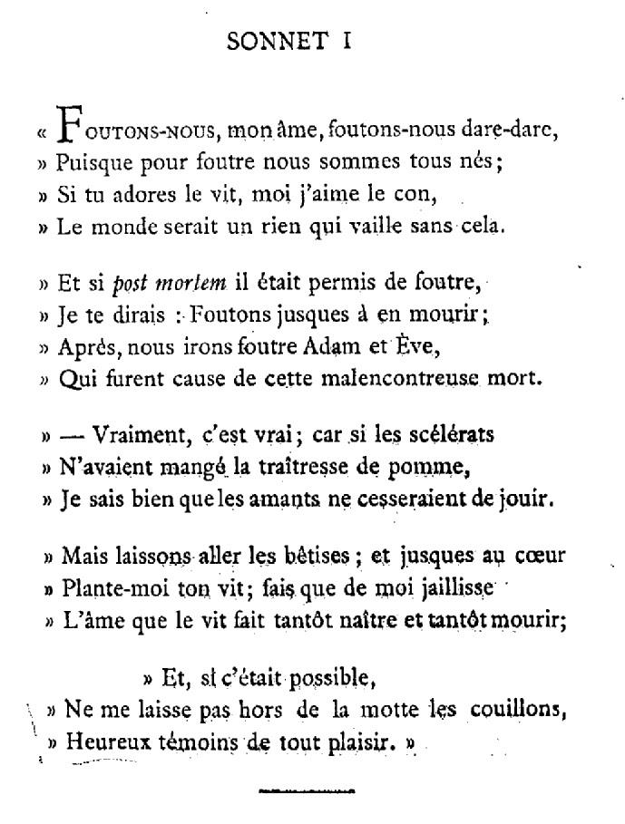 sonnet 1