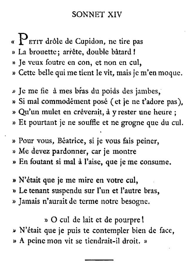 sonnet 14