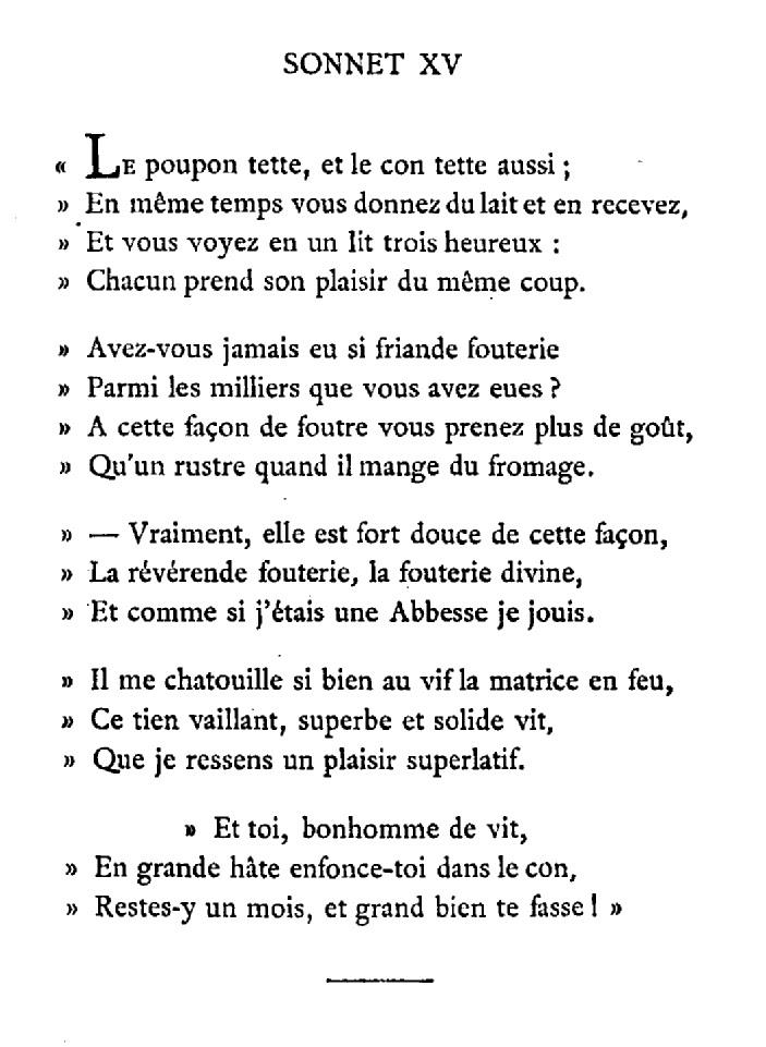 sonnet 15