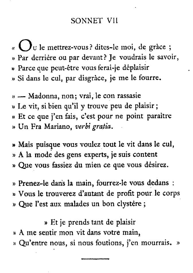 sonnet 7