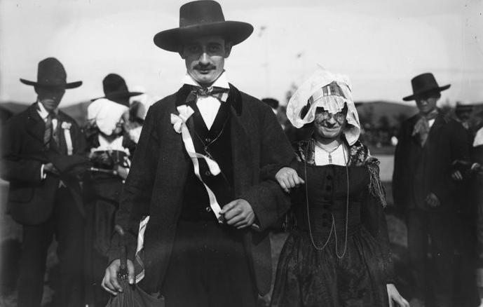 Mariage traditionnel à Aurillac