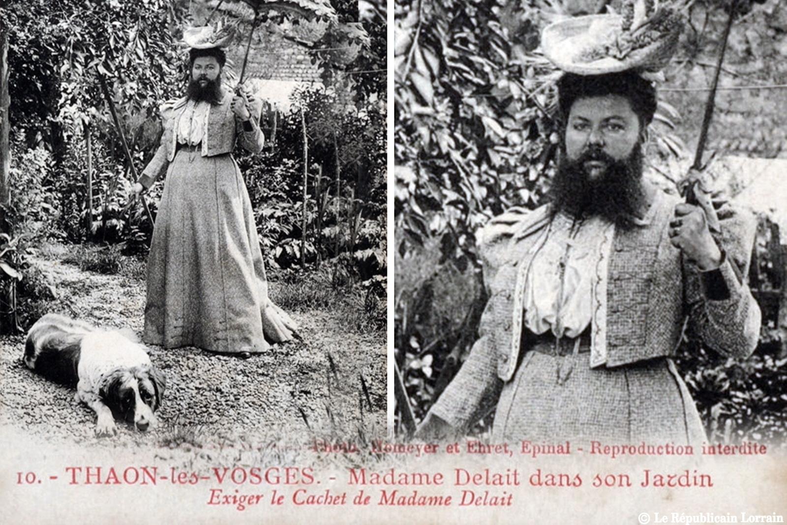Clémentine Delait - femme à barbe