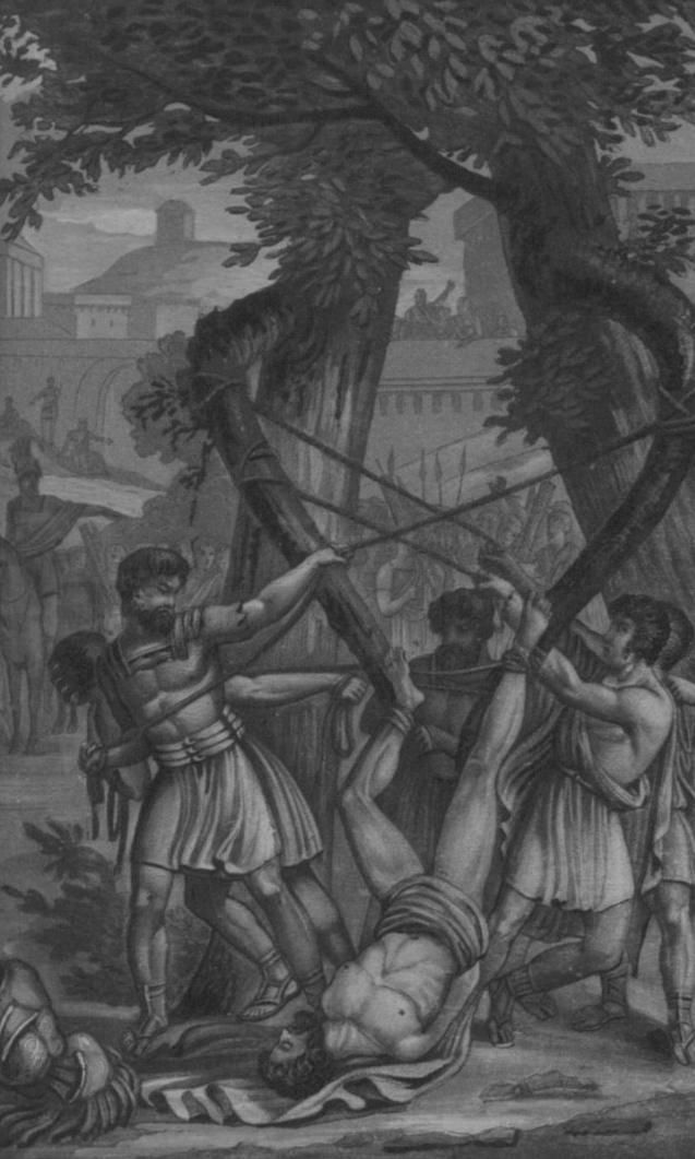 Torture à Rome - les branches