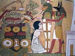La pipe divine -Isis et Osiris