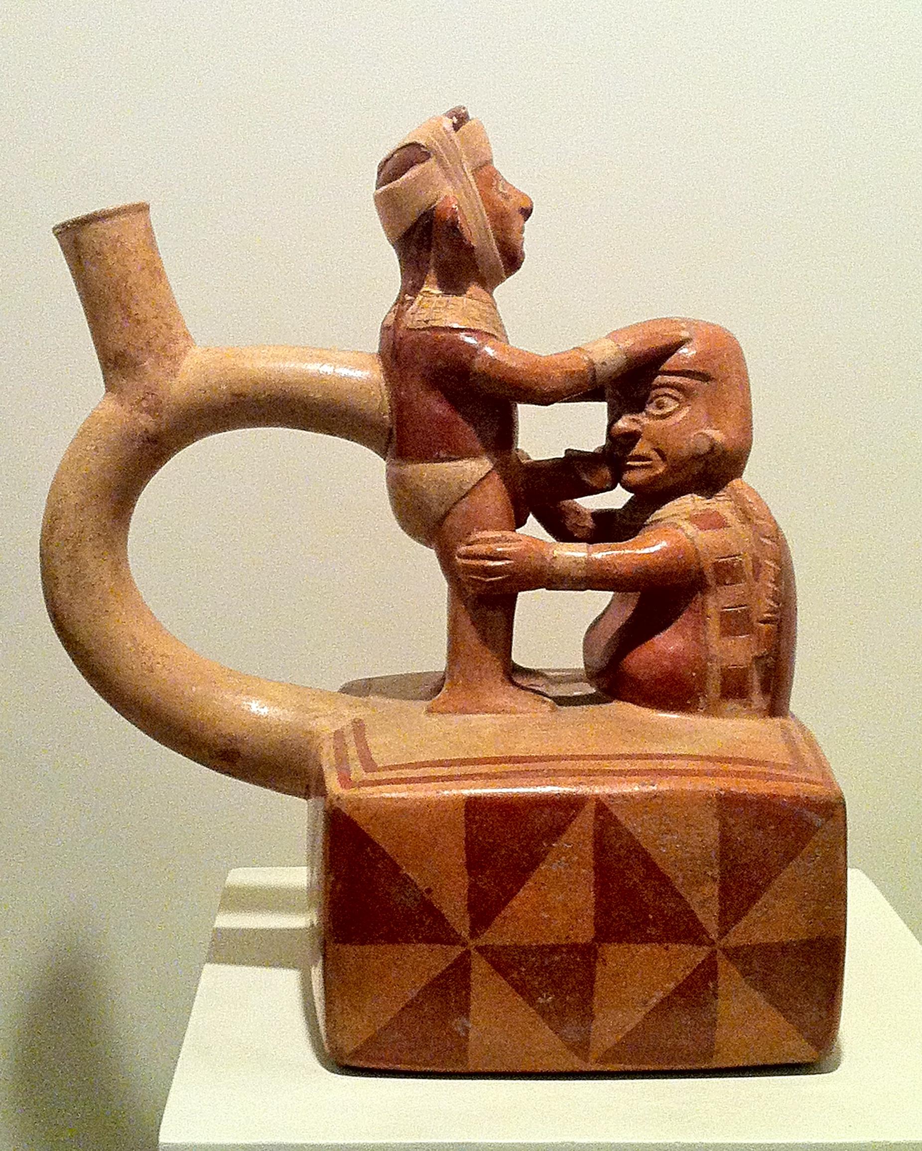 Allez, au goulot - époque précolombienne