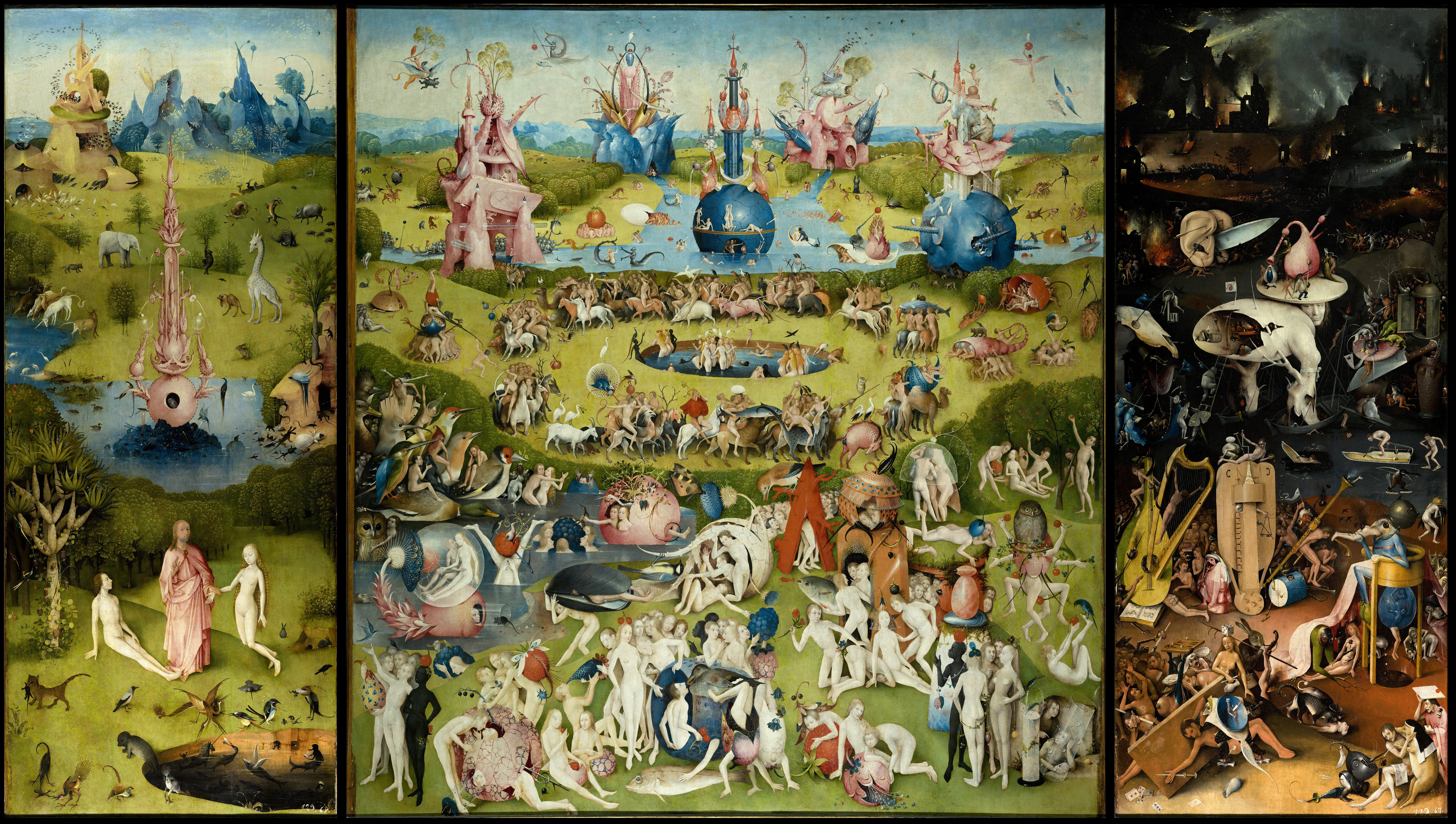 Le jardin des délices : Jerome Bosch - Les adamites