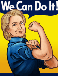 We can do it - Hillary Clinton
