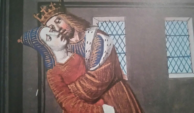 Bisou médiéval