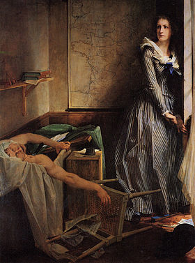 Charlotte Corday - assassinat de Marat