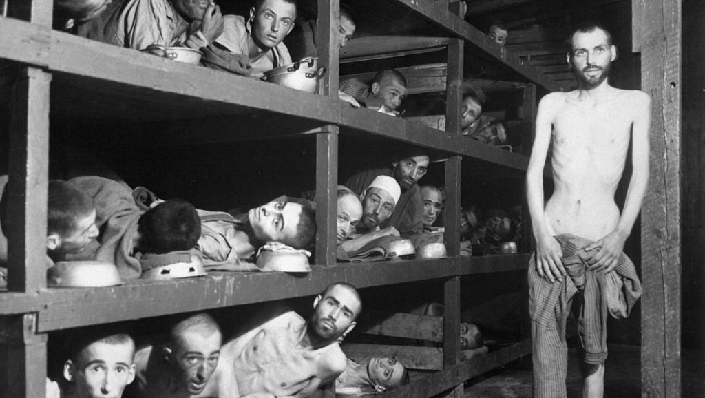 Buchenwald_Slave_Laborers_Liberation_0