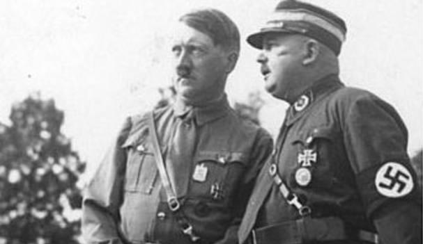 Hitler et Rohm