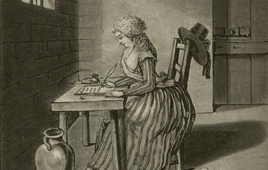 charlotte corday écrivant