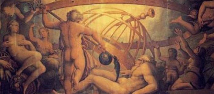 castration ouranos et chronos
