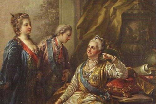 Paul présente sa meuf à Catherine II