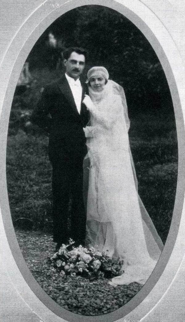 Mariage Marcel Petiot