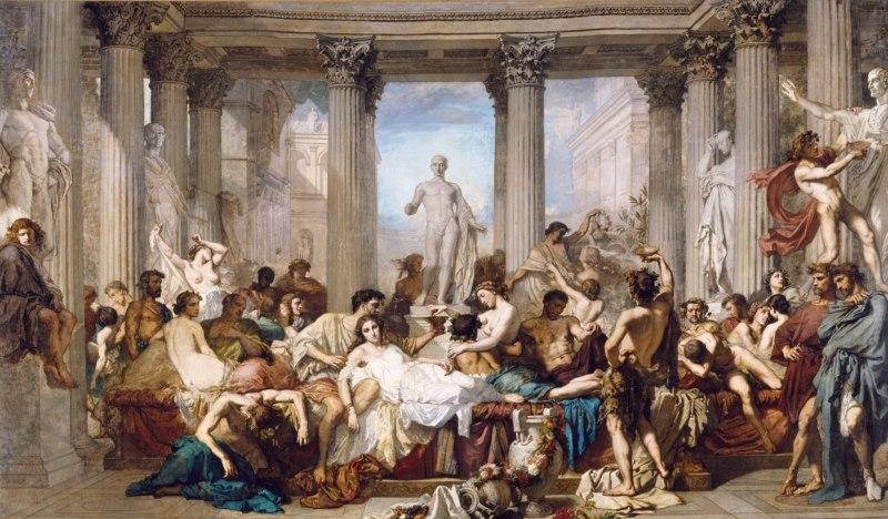 les orgies romaines