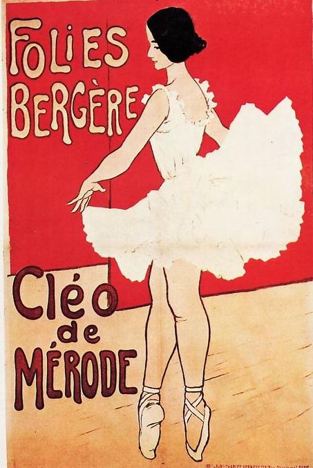 Cléo de Mérode - folies bergeres