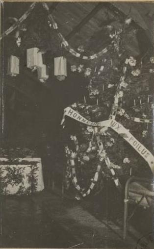 Le sapin des poilus en 1914