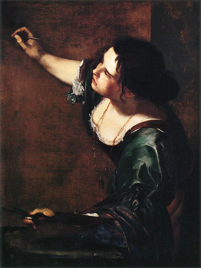 autoportrait Artemisia