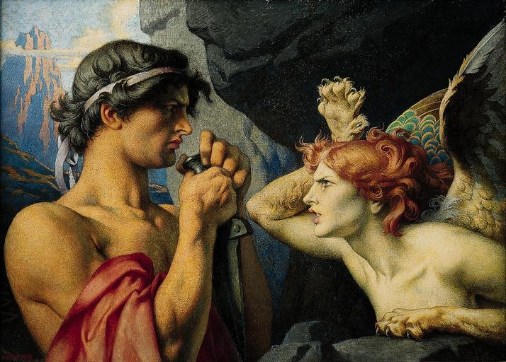 Œdipe et la sphynx