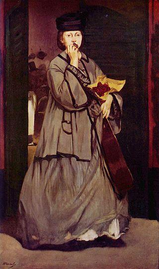 Edouard Manet et Victorine Meurent