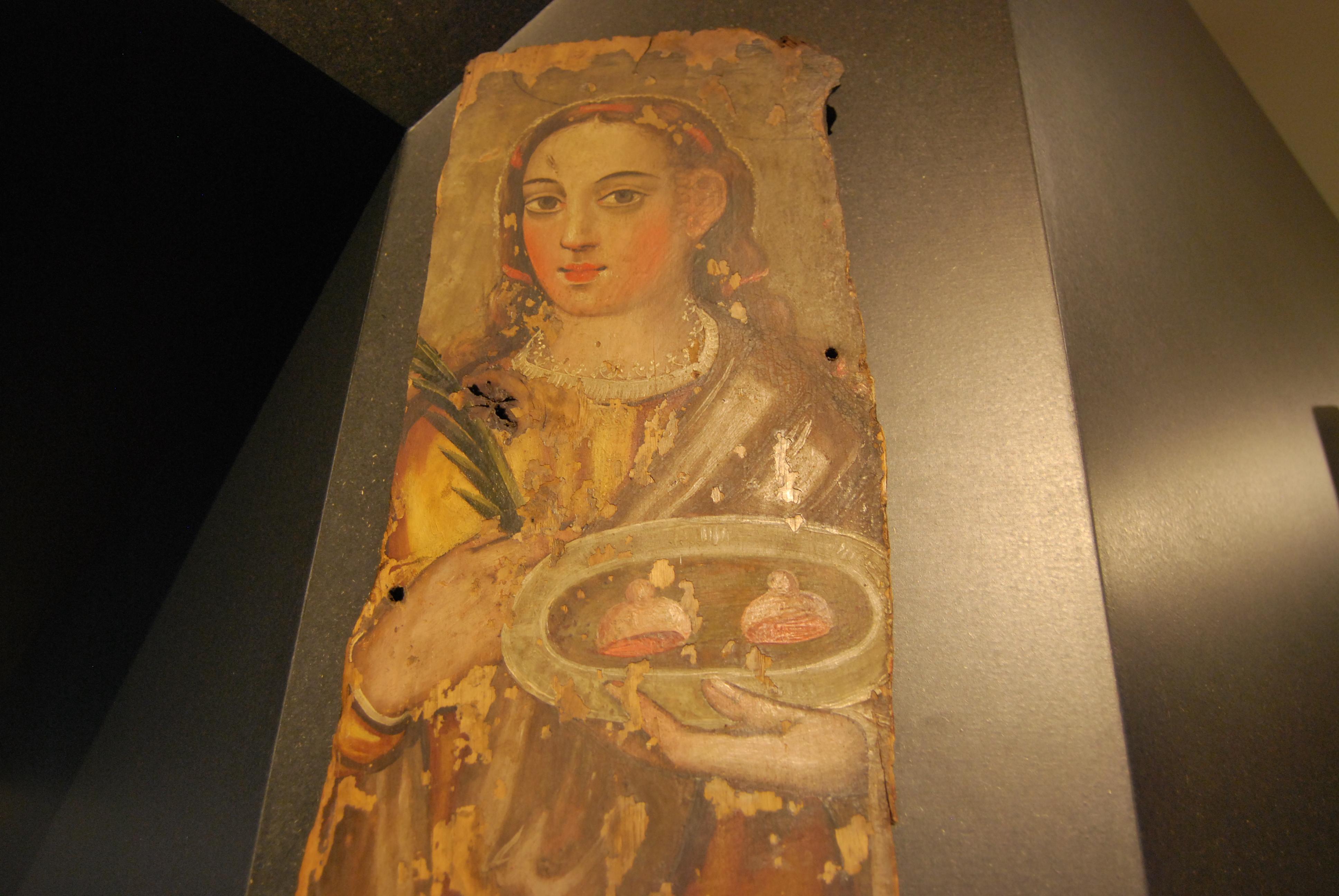 Sainte-Agathe (au MMIPO : super musée à Porto, je recommande 1000 fois)