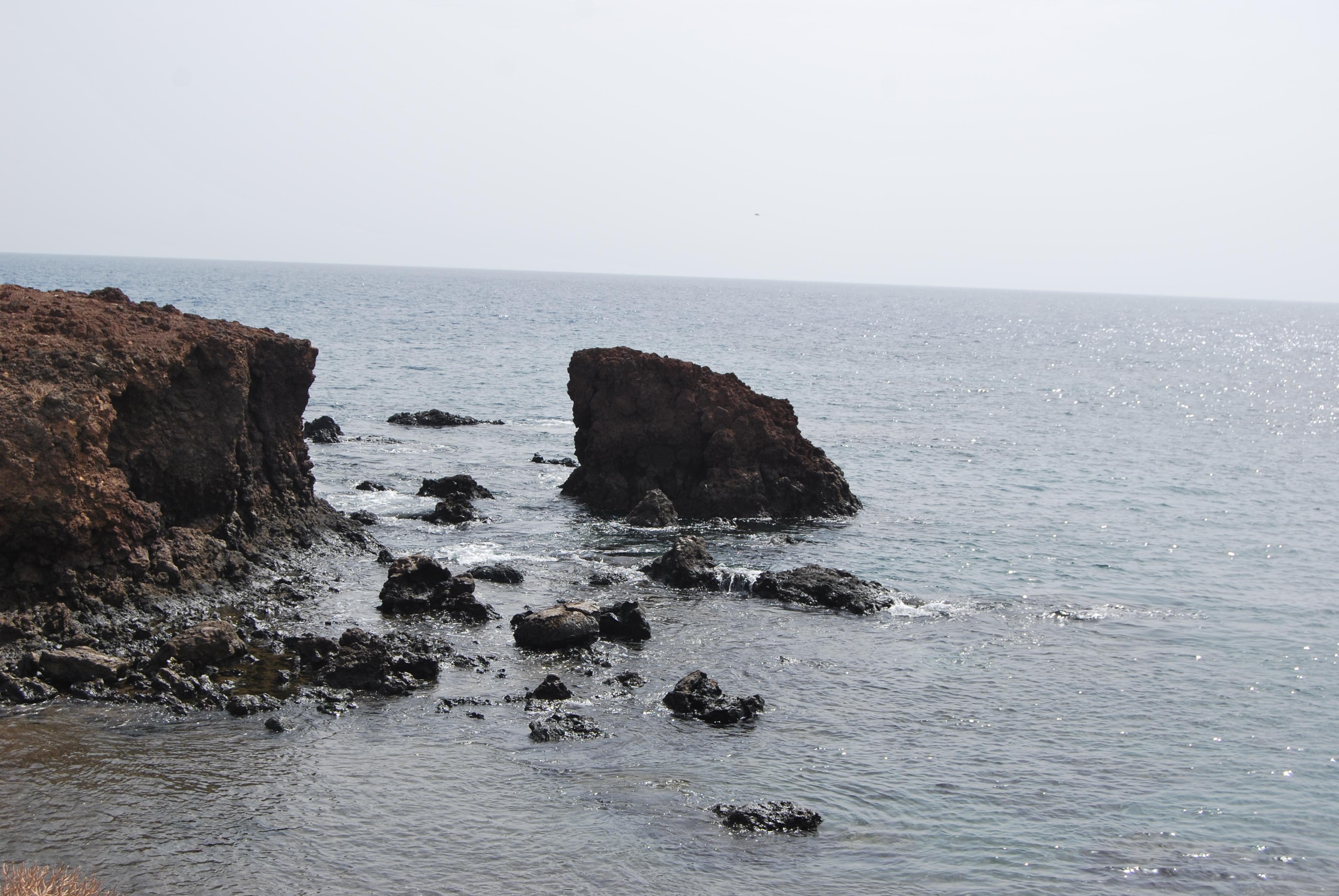 La plage d'Abades