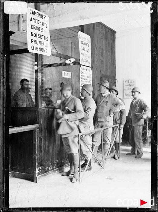 l'alcool et les soldats de la Première Guerre mondiale