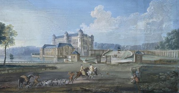 Chantilly_-_Le_château_du_XVIIIe