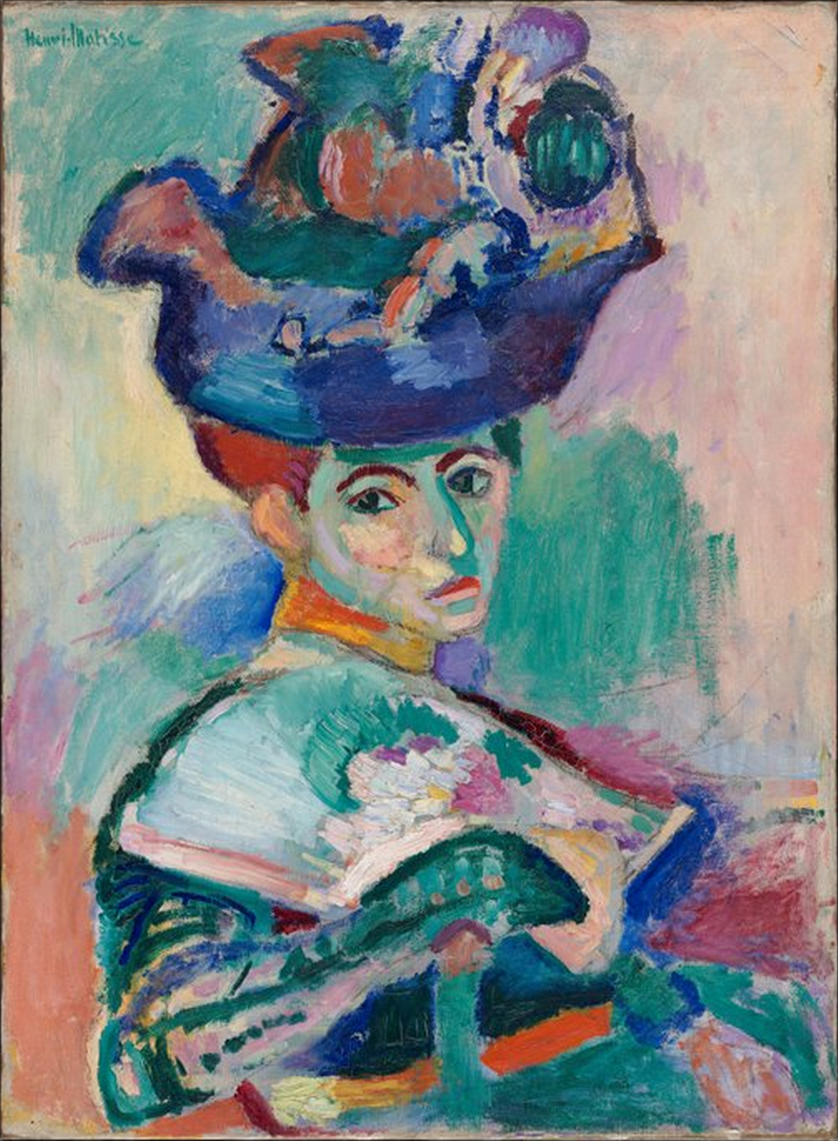 Matisse-Woman-with-a-Hat