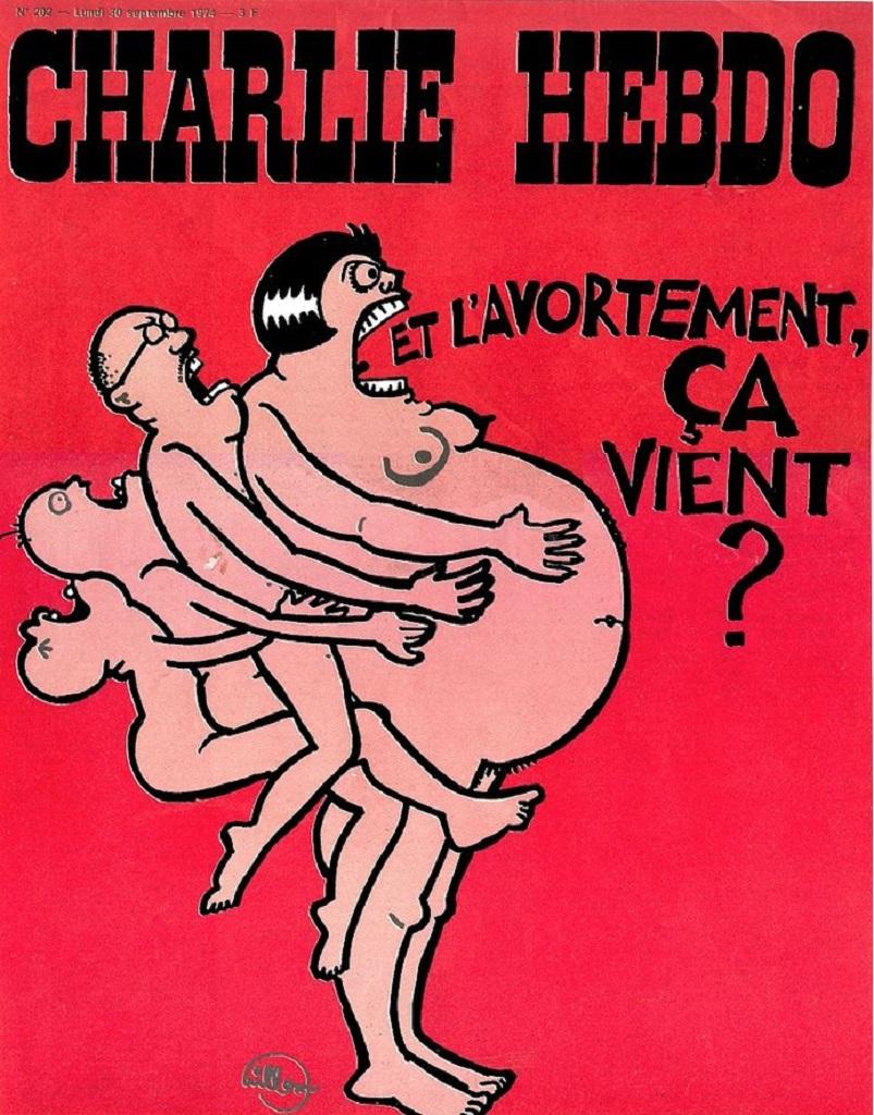 CHARLIE HEBDO N° 202 -30 SEPTEMBRE 1974 - Copie