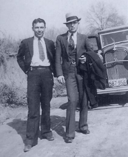 WD Jones et Barrow en 1933