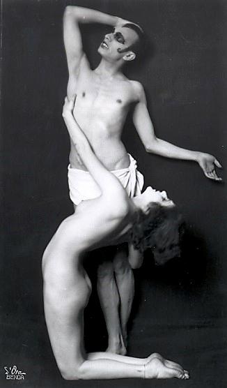 Anita Berber und Sebastian Droste in einer Tanzszene