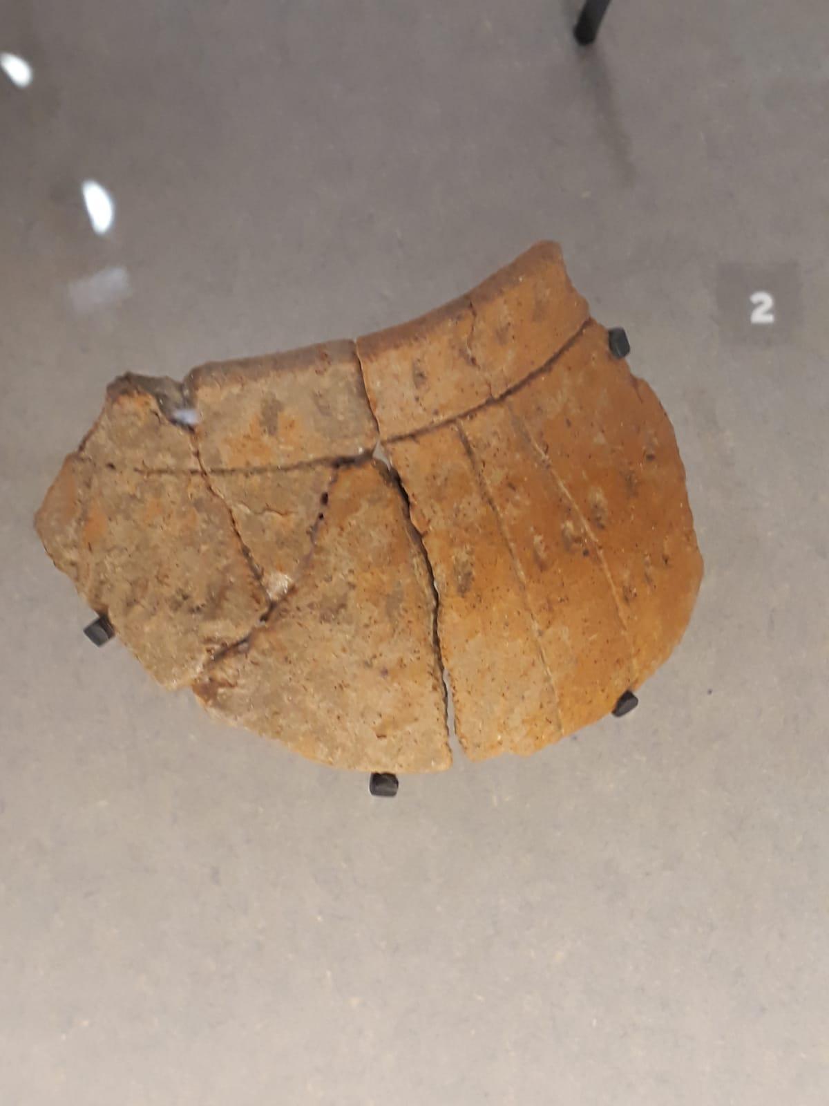 L'arrivée des colons venus du Sud de l'Alsace et de la Moselle ont apporté leur savoir faire, notamment la céramique rubanée. Une technique jusque là inconnue dans la région. (Des rubans de terre cuite accolés pour former vases, jarres...)