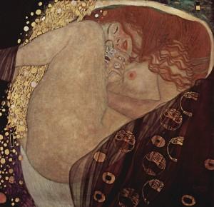 800px-Gustav_Klimt_010 DANAË
